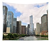 Chicago Panorama Tapestry