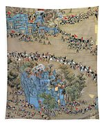 China Taiping Rebellion Tapestry