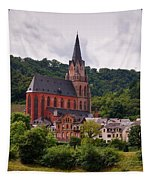 Church Of Our Lady  Oberwesel Am Rhein Tapestry