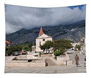 Church Of St.mark Makarska Tapestry