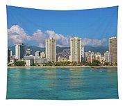 City At The Waterfront, Waikiki Tapestry