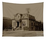 Clay And Hyde Street's San Francisco Built In 1874 Burned In The 1906 Fire Tapestry