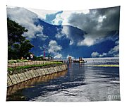 Clouds In Bali Tapestry