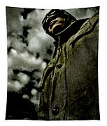 Cloudy Captain Tapestry