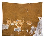 Cracked Stucco - Grunge Background Tapestry