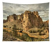 Crooked River Bend Tapestry