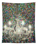 Crystal Chandelier Tapestry