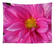 Dahlia Named Who Dun It Tapestry