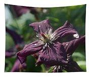 Deep Purple Clematis Tapestry