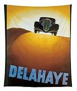 Delahaye Cars - Vintage Poster Tapestry