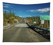 Denali Highway, Route 8, Bridge Crosses Tapestry