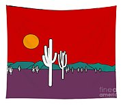 Desert Sunset Tapestry