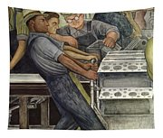 Detroit Industry   North Wall Tapestry