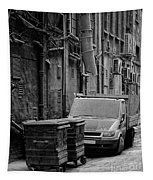 Dirty Back Streets Mono Tapestry