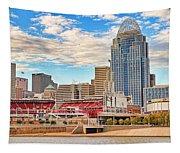 Downtown Cincinnati Pano1 Tapestry