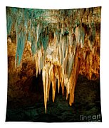 Draperies And Stalactites Tapestry