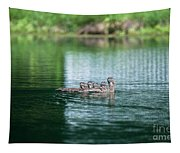 Duck Call Tapestry