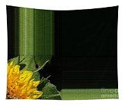 Dwarf Sunflower Named Teddy Bear Tapestry