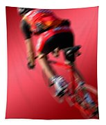 Dynamic Racing Cycle Tapestry
