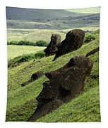 Easter Island 17 Tapestry