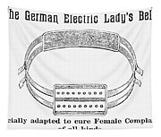 Electric Belt Ad Tapestry