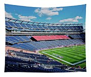 Elevated View Of Gillette Stadium, Home Tapestry