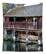 Eure River And Old Fulling Mills In Chartres Tapestry