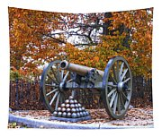 Facing Pickettes Charge Tapestry