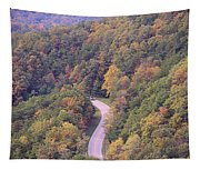 Fall Drive In The Smokies Tapestry
