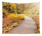 Fall In The Park Tapestry