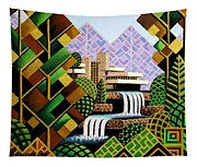 Falling Waters Tapestry