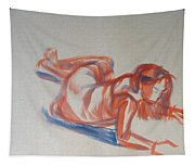Female Figure Painting Tapestry