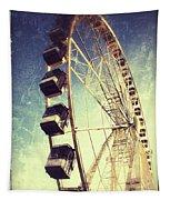 Ferris Wheel In Paris Tapestry