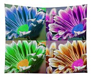 Firmenish Bicolor Pop Art Shades Tapestry