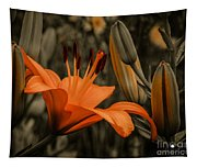 First To Bloom Tapestry