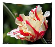 Flaming Parrot Tulip Tapestry