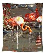 Flamingos Tapestry
