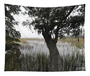 Fog On The Water Tapestry