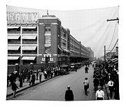 Ford Work Shift Change - Detroit 1916 Tapestry