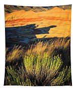 Fossil Beds And Grass Tapestry