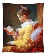 Fragonard's Young Girl Reading Tapestry