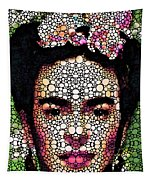 Frida Kahlo Art - Define Beauty Tapestry