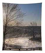 Frosty Sunrise Tapestry