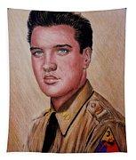G I Elvis  Tapestry