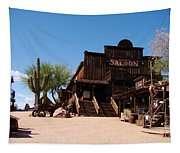 Ghost Town Saloon Tapestry