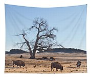 Give Me A Home Where The Buffalo Roam Tapestry