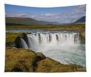 Godafoss Waterfall Tapestry