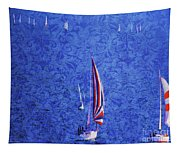 Gone Sailing Tapestry