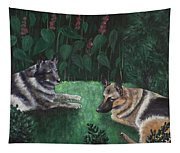 Good Friends Tapestry