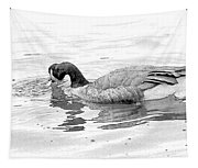 Goose In The Water Tapestry